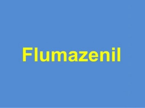 USMLE: Medical Video Lectures Pharmacology about Flumazenil by UsmleTeam