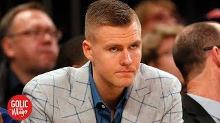Knicks never forgave Kristaps Porzingis for skipping exit meeting – Frank Isola | Golic and Wingo