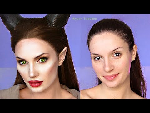 Maleficent Makeup Transformation Cosplay Tutorial
