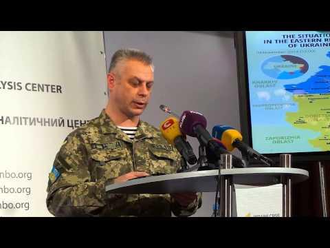 СНБО: Террористы получили автоматы с лазерными прицелами