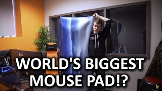 Biggest mousepad in the world!?