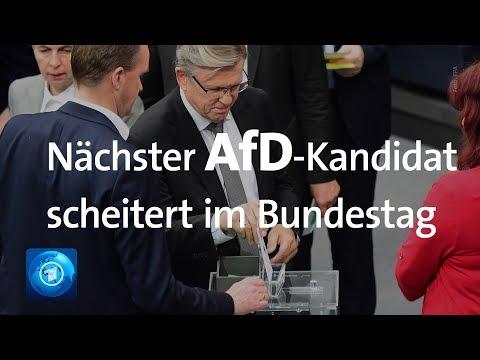 Bundestagsvizepräsident: Neuer AfD-Kandidat scheitert im ersten Wahlgang