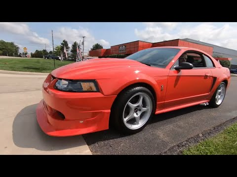 2000 Ford Mustang Cobra R For Sale