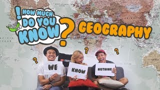 Video How Much Do You Know - Geography MP3, 3GP, MP4, WEBM, AVI, FLV September 2018