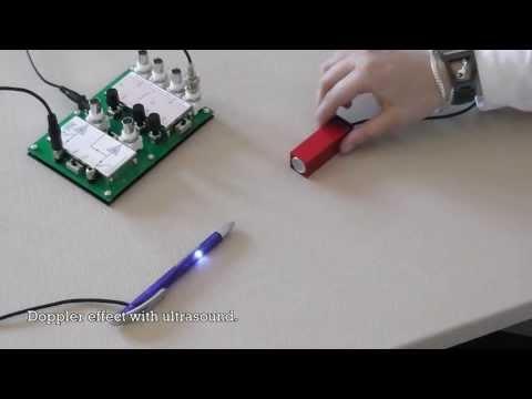 09  DopplerEffekt som svævning mellem forskudt frekvens og referensefrekvens
