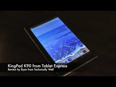 KingPad K90 from Tablet Express Review