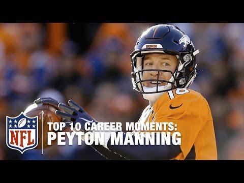 Peyton Manning's Top 10 Career Highlights | NFL