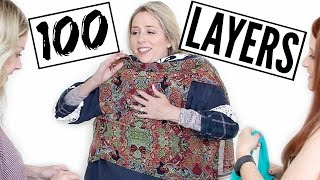 100 LAYERS of Clothes Challenge + HUGE ANNOUNCEMENT! by Eleventh Gorgeous