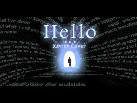 Hello (Adele)- Xavier Cover Audio