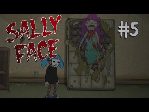 ЗЛОЙ ЧОБ ПОРТИТ ВЕЧЕРИНКУ へ▐ ╥ o ╥ ▐╮ {Прохождение Sally Face} #5