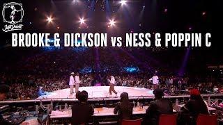 Brooke & Dickson vs Ness & Poppin C – Juste Debout 2018 Popping Semi Final