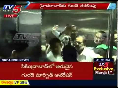 Heart Transported From Bangalore in Time for Operation  TV5 News