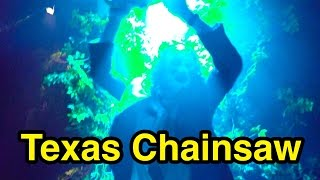 The Texas Chainsaw Massacre in Blood Brothers - Halloween Horror Nights 2016 Universal Studios