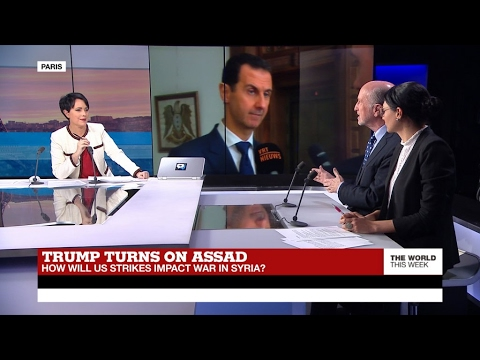 Video Trump turns on Assad: How will US strikes impact war in Syria? (part 1) download in MP3, 3GP, MP4, WEBM, AVI, FLV January 2017