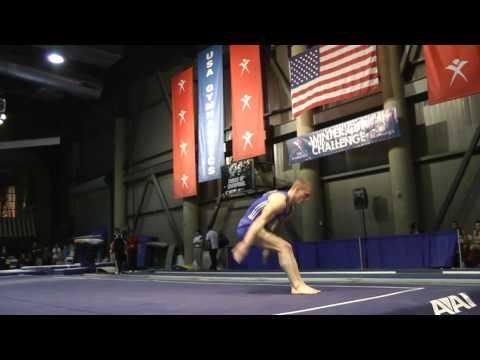 Steven Legendre - Floor Exercise - 2012 Winter Cup Finals