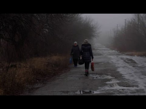 Between mines and mortars: stranded lives in eastern Ukraine