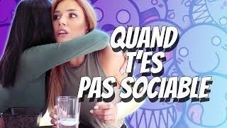 Video Quand t'es pas sociable - Andy MP3, 3GP, MP4, WEBM, AVI, FLV Oktober 2017