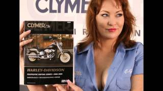 6. Clymer Manuals Harley Davidson Softail Deuce Fat Boy Screamin Eagle Shop Service Repair Manual Video