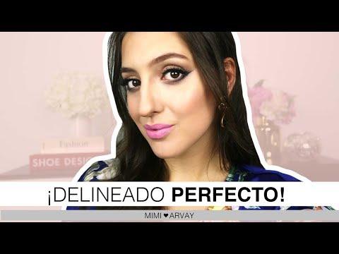 Maquillaje - TUTORIAL DELINEADO PERFECTO
