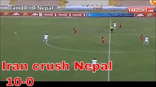 Nepal got off to a worst possible start in the AFC U-19 Championship Qualifiers crashing to a humiliating 10-0 defeat in their ...