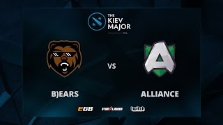 B)ears vs Alliance, Game 2, The Kiev Major EU Main Qualifiers