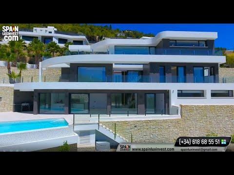 1750000€/Премиум/Люкс/Вилла в Испании/Элитная недвижимость/Новый дом Хай-тек в Бениссе/Коста Бланка