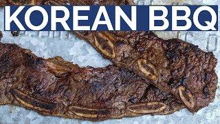 KOREAN BEEF SHORT RIBS     LA Galbi style by Food Busker