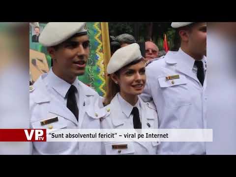 """""""Sunt absolventul fericit"""" – viral pe Internet"""
