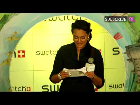 Sonakshi Sinha Launched Swatch Fall Winter Collect