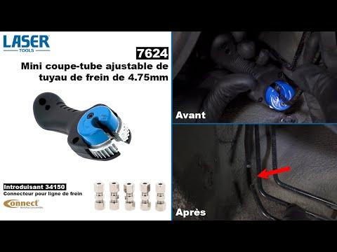 7624 Mini coupe tube ajustable de tuyau de frein 4.75mm de Laser Tools
