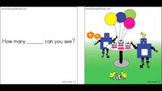 Numbers for Kids: Let's Count 1-10 Book