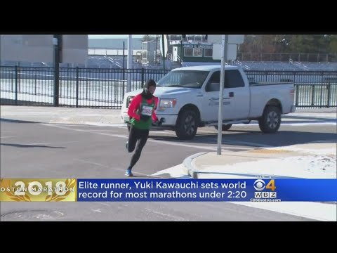 Runner Sets World Record For Most Marathons Under 2:20