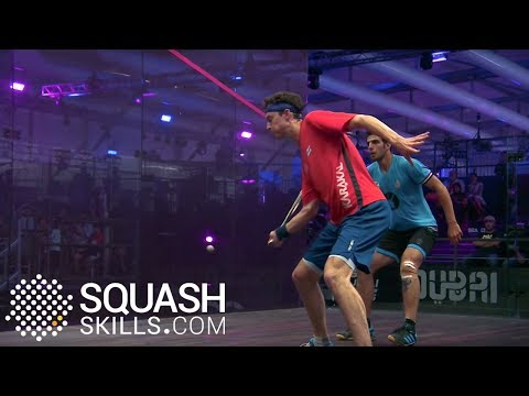 Squash tips: How you can be creative on a court!