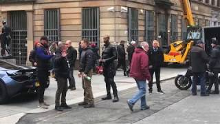 Nonton Hobbs   Shaw  Fast   Furious Spin Off  Action Scene Filming   Glasgow   24 10 2018 Film Subtitle Indonesia Streaming Movie Download