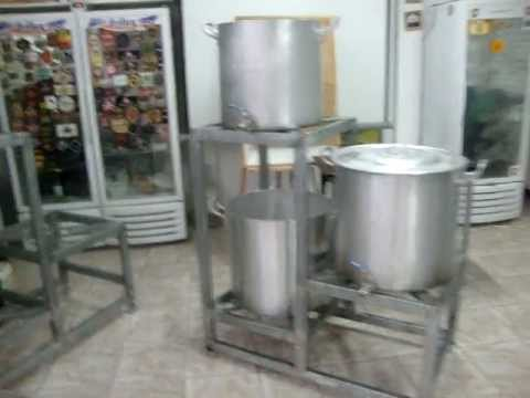 """Brewstand 3 Tier Compact """" make your own beer at home """""""