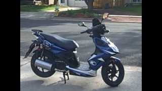 6. Kymco Super 8 150cc Scooter For Sale
