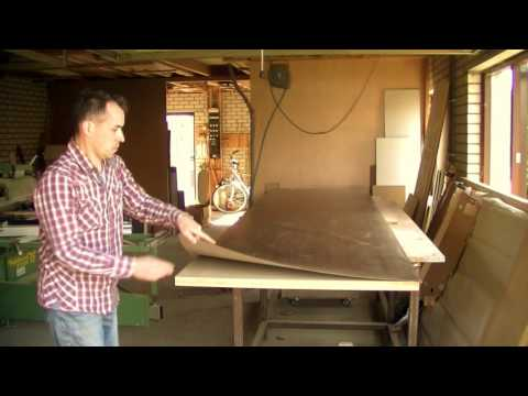 How To Laminate A Big Table / Counter Top. HPL / Formica