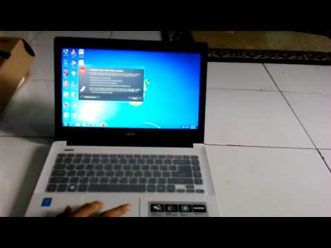 Unboxing & Review Acer Aspire E14 (E5-471-30Q8) i3  By Amran
