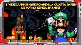 Video 8 Videojuegos que Rompen la Cuarta Pared de Forma Espeluznante - Pepe el Mago MP3, 3GP, MP4, WEBM, AVI, FLV September 2019