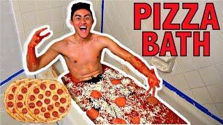 PIZZA BATH CHALLENGE!