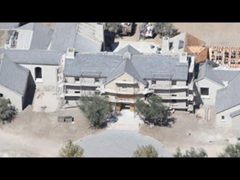 The Huge Kardashian-West Mansion Gets A Massive Make-Over