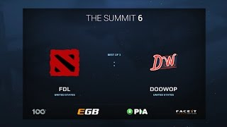 FDL vs DooWop, Game 2, The Summit 6 Qualifiers, America