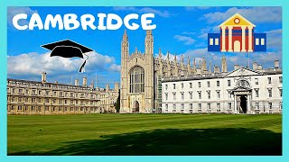 A walking tour of  Cambridge