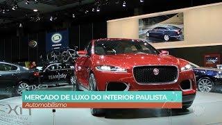 Mercado de Luxo Automobilismo -  Visita Record