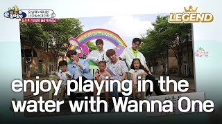 Video Seol-Su-Dae enjoy playing in the water with Wanna One! [The Return of Superman / 2017.08.20] MP3, 3GP, MP4, WEBM, AVI, FLV Mei 2019