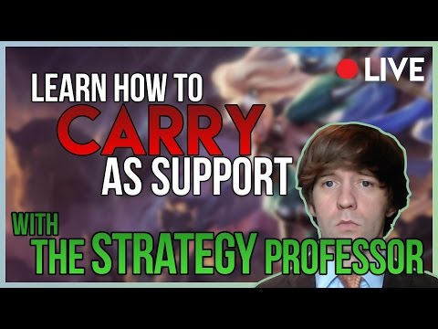 9/18/17 Stream -- How to Win As Support -- League of Legends