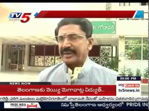 MP Murali Mohan Talks to Media over Hudhud Cyclone : TV5 News
