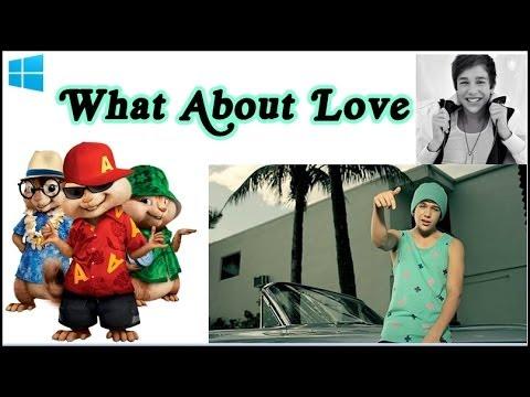 Tekst piosenki Alvin i Wiewiórki - What About Love po polsku