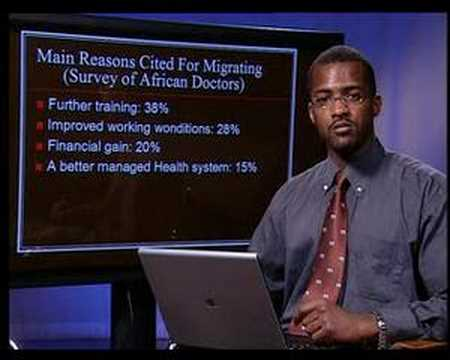 brain drain - 4 minute presentation on the african brain drain.