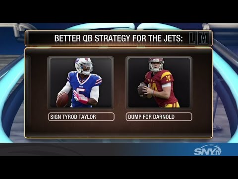 Video: Should the Jets Sign Taylor or Dump for Darnold?